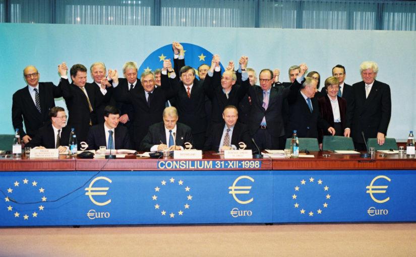 Le choix de l'euro comme monnaie unique